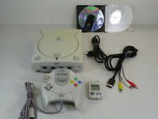 !!! SEGA DREAMCAST Konsole + Controller + Memory + Spiel CD GUT/OK !!!