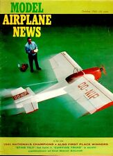 MODEL AIRPLANE NEWS OCT 1961 STINSON MODEL T TRIMOTOR AIRLINER WILLIAM WYLAM SCA
