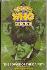RARE: Doctor Who: The Scripts: The Power of the Daleks. VGC. First edition.