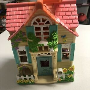 Fisher Price Mattel Sweet Streets Country Cottage Loving Family Doll House c2000