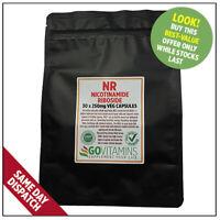 Meistverkauft NR 250mg REINES Nicotinamide Riboside VEGETARISCHE Kapseln NAD +