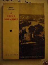 La seine normande de R dumesnil,  années 30