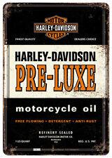 Harley Davidson Pre-Luxe Blechschild 10x14 cm Blechkarte 10196 Sign