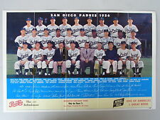 1956 San Diego Padres Team Photo with 22 Autographs.  Pacific Coast League