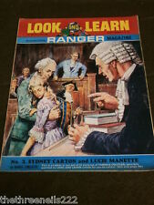 LOOK and LEARN # 288 - SYDNEY CARTON & LUCIE MANETTE - JULY 22 1967