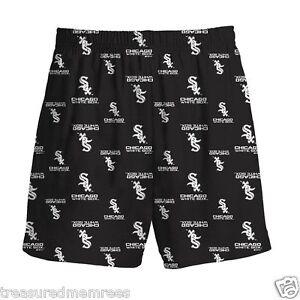 Boys' Licensed MLB Chicago White Sox Sleepwear Shorts ~ Size Small (8) ~ NWT