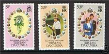 Tristan da Cunha 1981 Royal Wedding SG308/10 MNH