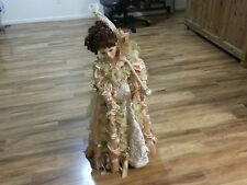 36 inch tall Seymour Man doll with Umbrella in Great shape with stand