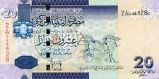 Libya P-74 20 dinars (2009) series 2 UNC
