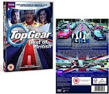 TOP GEAR UK 2014 - THE BEST OF BRITISH - Clarkson, Hammond, May - UK DVD not US