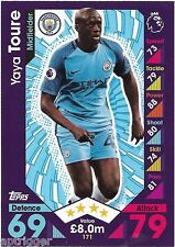 2016 / 2017 EPL Match Attax Base Card (171) Yaya TOURE Manchester City