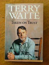 Taken on Trust by Terry Waite (Paperback, 1994)