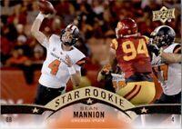 2015 Upper Deck - SEAN MANNION #75 RC - Oregon St. / Los Angeles Rams 🏈