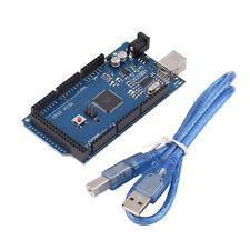 MEGA 2560 R3 ATMEGA16U2 ATMEGA2560-16AU Board + Free USB Cable For Arduino