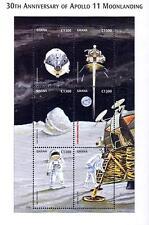 Ghana 1999 Astronomy & Space Apollo 11 M/S Sc#2122 Mnh Cv$8.00