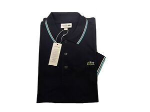 Lacoste Polo 5 Size L Men Brand New Blue