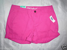 OLD NAVY boy friend pink mini shorts SIZE 0 new nwt