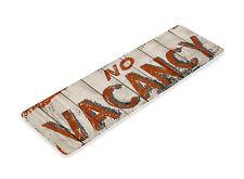 TIN SIGN B789 No Vacancy Cottage Hotel Motel Rustic Metal Decor