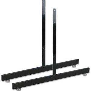 T-Shape Gridwall Panel Legs Display Set Of 1 - Black