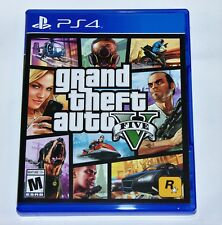 Replacement Case (NO GAME) GRAND THEFT AUTO V GTA V PlayStation 4 PS4 Box