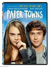 Paper Towns( DVD 2015) NEW* Adventure, Mystery, Romance  Free Shipping