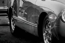 Side Molding Set, Complete, Sharp-Edge Style VW 141-898-499