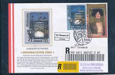 Christkindl-Reco-Brief 26.12.2004, Ersttag  (F14)