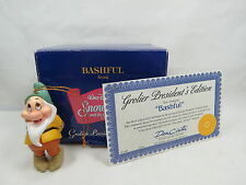 "Grolier President Edition Snow White Dwarf ""Bashful"" Ornament Great Gift S7 2.04"