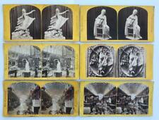 6 Early Stereoviews International Exhibition 1862