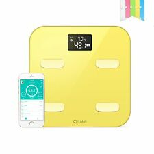 YUNMAI Smart Body Fat Analyser Scale Monitor BMI Bathroom Weighing LCD Scale
