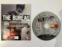 PS3 - The Bureau: XCOM Declassified With Unused DLC Breakers Mission