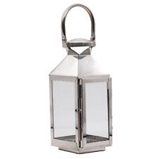 Laterne Lampe Leuchte Edelstahl Windlicht Gartenlaterne Dekolampe Tischlaterne