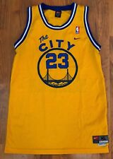 Vintage Nike Swingman Golden State Warriors The City Gold Jersey-Sewn-XL+2""