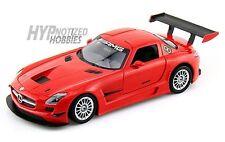 MOTORMAX 1:24 MERCEDES-BENZ SLS AMG GT3 DIE-CAST RED 73356