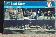 PT Boat Crew    Italeri 1/35