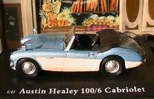 AUSTIN HEALEY 100-6 CABRIOLET OLIEX 1/43 SPORT RACE NEW CARARAMA ROADSTER RHD