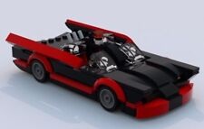Custom Lego 1960s Classic Batmobile -- LXF File and Instructions Only