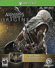Assassin's Creed: Origins -- SteelBook Gold Edition (Xbox One, XB1) New/Sealed