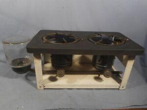 Vintage USA 2 burner kerosene stove, camp or off the grid
