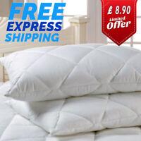 Luxury Ultra Loft Jumbo Super Bounce Back Pillows - 2 Pack