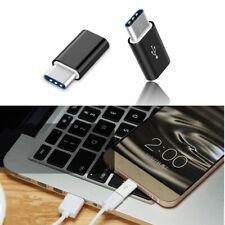 2X USB 3.1 Tipo C Macho a Hembra Conector Adaptador De Datos Micro Usb Convertidor on-the-go