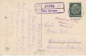 Landpoststempel   Prösitz über Grimma    1940