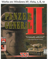 Panzer General II 2 PC Game 1997 Windows XP Vista 7 8 10
