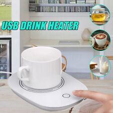 Portable Cup USB Warmer Heater Timing Beverage Mug Mat Hot Drink Heater