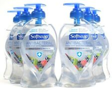 6 Softsoap Antibacterial Hand Soap With Moisturizers White Tea & Berry 11.25 oz