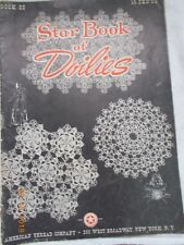 Star Book of Doilies Book 22, American Thread Company, N.Y., undated, Complete
