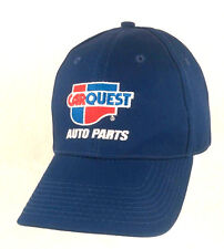 Carquest Auto Parts Navy Blue Embroidered Baseball Cap Adjustable Strapback