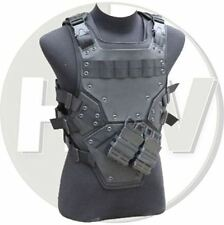 AIRSOFT PAINTBALL TMC CS PROTECTIVE COSPLAY TF3 VEST CHEST RIG BLACK SWAT