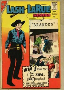 Lash LaRue Western #77-1960 fn- 5.5 Pete Morisi Charlton