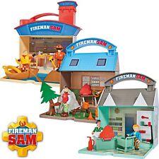Feuerwehrmann Sam Dily's Supermarkt Wasserwacht Bergrettungszentrum +2 Figuren